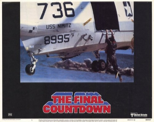 The Final Countdown Plakat Movie Poster (11 x 14 Inches - 28cm x 36cm) (1980)