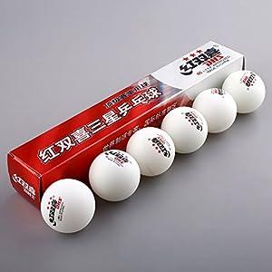 Bazaar 3 Sterne 6 Pics DHS 40MM Olympischen Tischtennis Gelb Ping Pong Bälle...