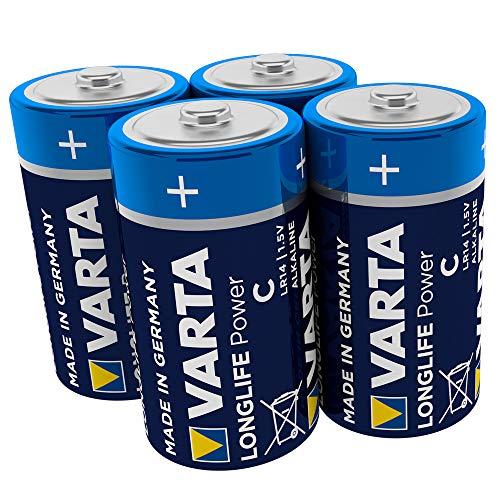 2 Aaaa-alkaline-batterien (Varta Batterien 1,5 V Longlife C Alkaline Batterie (4 Stück))