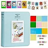 Cpano Coloré Bundle Set Accessoires pour Fujifilm Instax Mini caméra, pignon HP, Polaroid Zip, Snap, Snap Touch Films d'imprimante avec des Autocollants de Film, Album et Cadre