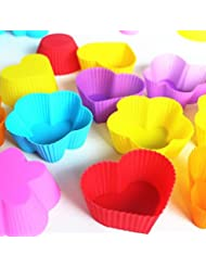 20Pcs / Lot, venta al por mayor los 7Cm torta del silic¨®n