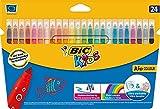Bic Kids Kid Couleur 24 Fasermaler im Kartonetui