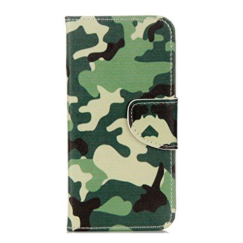 Coque pour iPhone 8, Frlife | Housse en Cuir PU pour iPhone 8 Coque avec Étui en Silicone, Protection Complète pour Votre Téléphone Portable. couleur 1