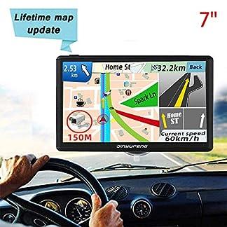 GPS-Navi-Navigation-fr-Auto-LKW-PKW-KFZ7-Zoll-Navigationsgert-8GB-256MB-Lebenslang-Kostenloses-Kartenupdate-POI-Blitzerwarnung-Sprachfhrung-Fahrspurassistent-2019-EU-UK-52-Karten