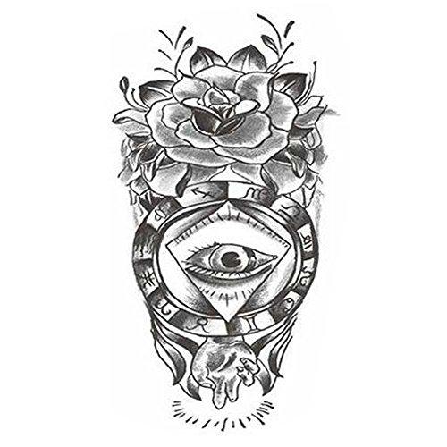 Tattoo-Aufkleber Individuelle Styles Temporary Tattoos Modische Fake-Körper-Tätowierungen