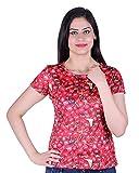 Kally Women's Satin Printed Regular Fit ...