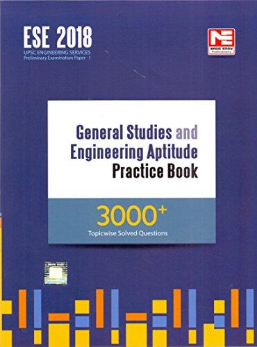 ESE 2018 General Studies and Engineering Aptitude Practice Book 3000+