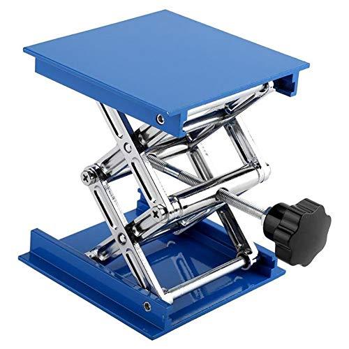NOBGP Lift Tisch, Aluminium Oxid Labor Standheber Faltbare Höhe Kontrolle wissenschaftliche Schere Hebehub Plattform für das Arbeiten, physikalische, chemische, biologische Experimente,6