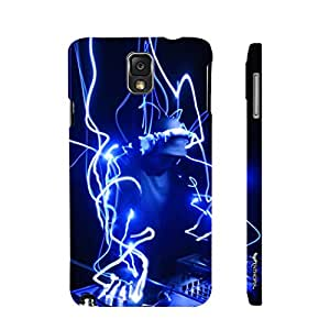 Samsung Galaxy Note 3 Lite Electronic Dance Music designer mobile hard shell case by Enthopia