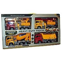 A to Z 02028 Construction Vehicle Four Piece Set