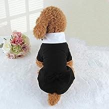 WSS Mascota del smoking del perro camisa de vestir de otoño . xs- about 2-4 jin to wear