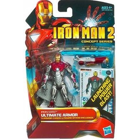 Iron Man 2Concept Series 4pulgadas figura de acción Iron Man Ultimate Armor # 18