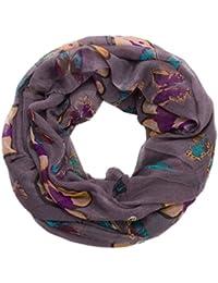 style3 Leichter Schmetterling Loop-Schal für Damen in verschiedenen Farben