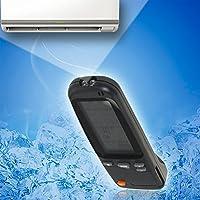Mando distancia aire acondicionado aire caliente universal control remoto AC facil uso y configuracion RC-4 RC-3 RC-7 controlador exactamente las mismas funciones que el de su marca original de aire acondicionado de CHIPYHOME
