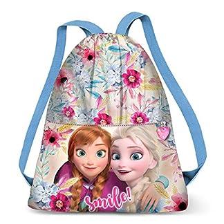 Karactermania Frozen Smile-sacca Strap Bolsillo Suelto para Mochila 41 Centimeters (Multicolour)