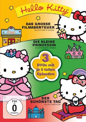 Das große Filmabenteuer / Die kleine Prinzessin / Der schönste Tag (3 DVDs)