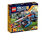 #4: Lego Nexo Knights Clay's Rumble Blade, Multi Color with Free Santa's Visit