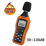 Sonomètre, VLike PT02 LCD moniteur numérique décibel audio sonomètre mètre dB mètre mesure 30 dB à 130 dB logger testeur