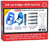 Red Star Ink Refill Tool kit for hp 678 Ink Cartridge Filling & Head Cleaning/Ink Suction/Priming