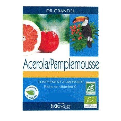 Acérola Pamplemousse - 24 comprimés