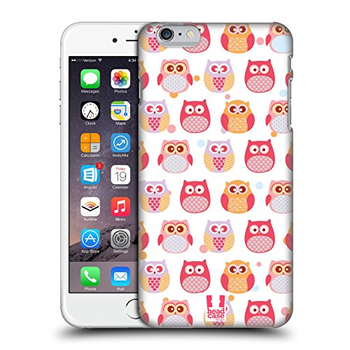 Head Case Designs Curioso Piccoli Gufi Kawaii Cover Retro Rigida per Apple iPhone 7 Plus / 8 Plus Paralizzato