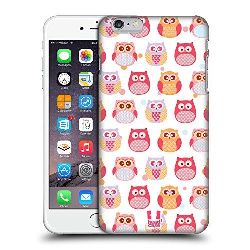 Head Case Designs Curioso Piccoli Gufi Kawaii Cover Retro Rigida per Apple iPhone 7 Plus / 8 Plus Paralizzato
