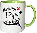 Die besten [PAPA GIFT] Vater Tassen - Mister Merchandise Kaffeebecher Tasse Bester Papa der Welt Bewertungen