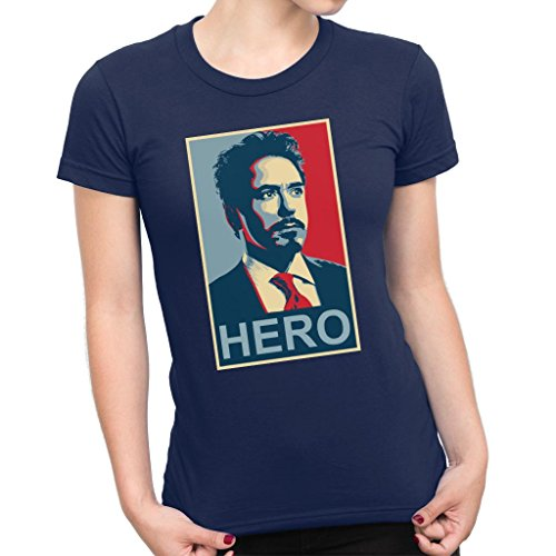 Hero Shepard Fairey Style Women's T-Shirt ()