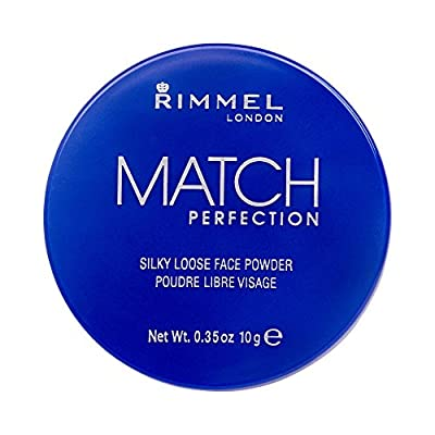 Rimmel London Match Perfection Silky Loose Face Powder, 001 Transparent, 10 g from Coty