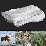 #6: ARMOR Anti-Bird Net High Quality UV-Stabilized HDPE Nylon Bird Net(WHITE) (8ftx12ft)