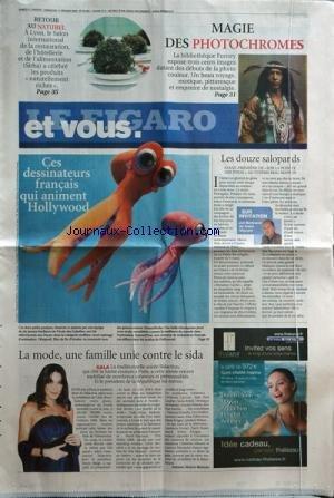 FIGARO ET VOUS [No 20064] du 31/01/2009 - magie de...