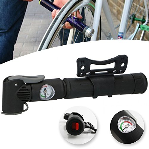 ABS Bicycle Gear Mini Bike Pump Inflator for Bike Wheels for sale  Delivered anywhere in UK
