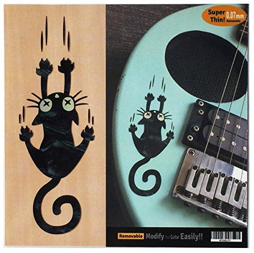 Auslesen Verrutschen Katze Naughty Cat Gitarre Ukulele Einlage Aufkleber Aufkleber (BP)
