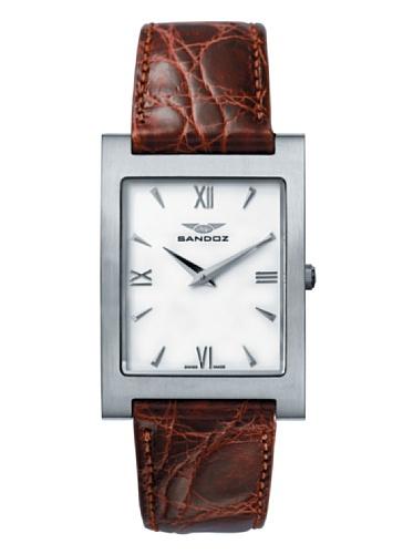 Sandoz 81229-00 – Reloj de Caballero de piel