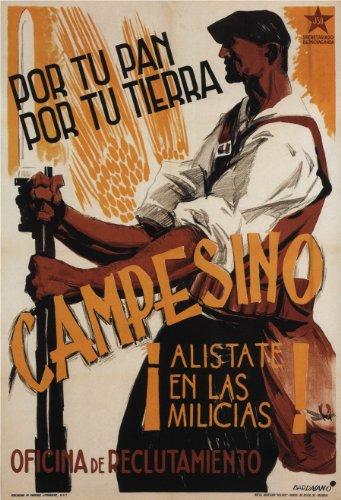 Guerra Civil Española Vintage Propaganda