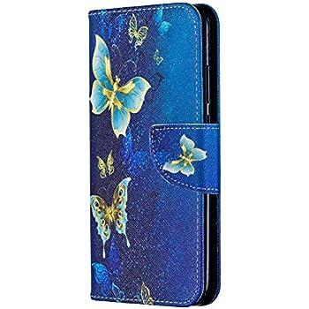 Moon mood Galaxy S7 Edge Custodia e Portafoglio con 9 Slot Porta Flip Cover Libro Custodia in Pelle PU Protettivo Copertina Soft TPU Bumper Supporto Wallet Case per Samsung Galaxy S7 Edge G9350 5.5