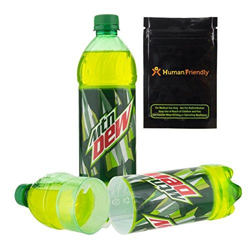 Mountain Dew Zeitvertreib Safe Secret Flasche Stash kann w humanfriendly geruchsfeste Tasche -