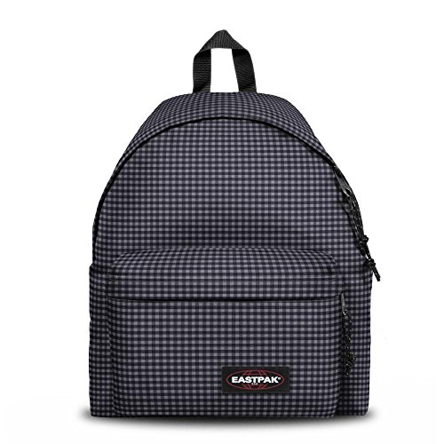 Eastpak Padded Pak'R Sac Scolaire, 42 cm, Gingham Grey