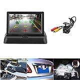 ROKOO Überwachungskamera für Auto, HD, kabelgebunden, 170 Grad, LCD-Display, flüssiger Bildschirmdarstellung von 4,3 Zoll (43,72 cm), Nachtsicht