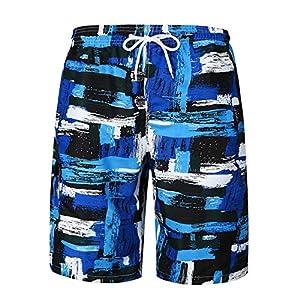 Jiobapiongxin Mode Sommer Strand Shorts Mann Junge Jungen Bunte Printed Hosen Beachwear