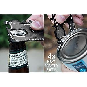 Gadget Hero's Wallet Ninja 18-in-1 Survival Tool Kit Multifunction Credit Card Style