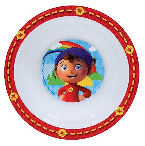 FUN HOUSE 005346 Oui-Oui Bol Micro-Ondable pour Enfant Polypropylène Rouge 16 x 16 x 4 cm