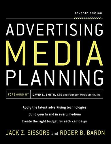 Advertising Media Planning, Seventh Edition (Marketing/Sales/Adv & Promo)