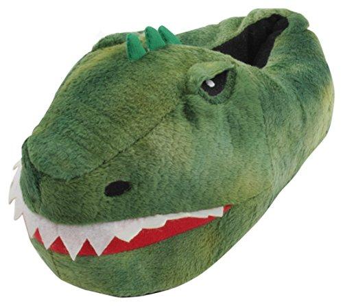 SlumberzzZ Kids Dinosaur Fun Slippers