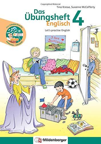 """Das Übungsheft Englisch 4: Let's practise English mit Audio-CD """"Jicki Vokabel-Dusche ()"""
