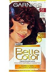 6 x belle color crcolacajou fonc 51 - Belle Color Acajou