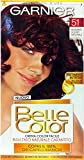 6x Belle Color CR.COL.Mahagoni Dunkel 51