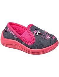 gibra - Zapatillas de estar por casa de tela para niño