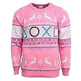 Playstation Official Pink Christmas Jumper / Sweater - Medium