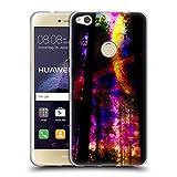 Head Case Designs Offizielle Haroulita Saturn-Blitz Raum Soft Gel Hülle für Huawei P8 Lite (2017)